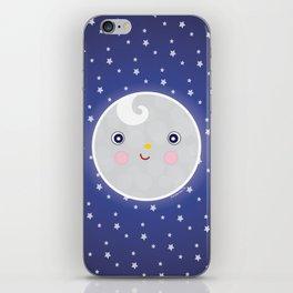 Happy Moon Man iPhone Skin
