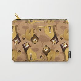 King of the Jungle Carry-All Pouch