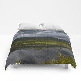 Long Pond in Eden, Vermont Comforters