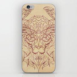 Lion Crab iPhone Skin