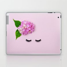 The Lady In The Flower Hat Laptop & iPad Skin