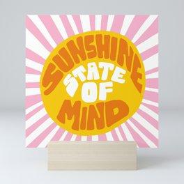 Sunshine Vibes Mini Art Print