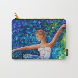 Dance In The Rain Of Color Carry-All Pouch