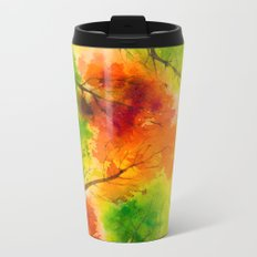Autumn scenery #13 Metal Travel Mug