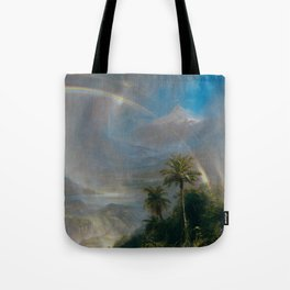 Rainy Season in the Tropics - Frederic Edwin Church Tote Bag