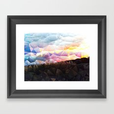 Candy on the Dunes Framed Art Print
