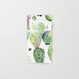 Cactus commotion Hand & Bath Towel