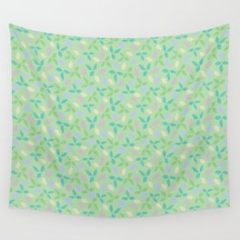 Whimsical Leaves Wall Tapestry