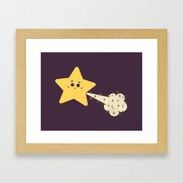 Tooting Star Framed Art Print