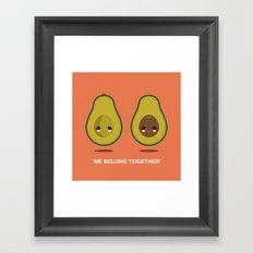 We Belong Together Framed Art Print