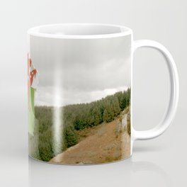 Top of the Hill Welsh Flag Coffee Mug