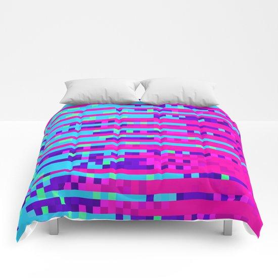 Pixel Pattern 2 Comforters