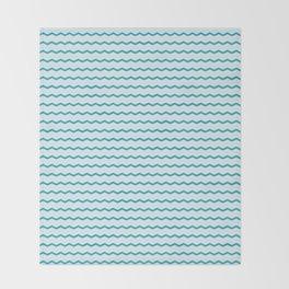 Ocean Ripple Throw Blanket