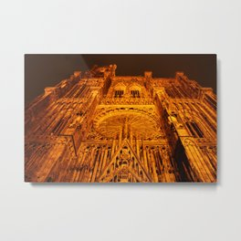 by night Metal Print