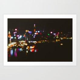 Hong Kong Island Art Print