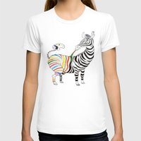 zebra T-shirts featuring Zebra by gunberk
