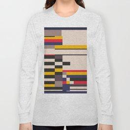 Geometric design - Bauhaus inspired Long Sleeve T-shirt