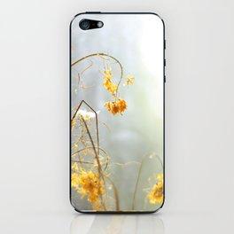 dried flowers iPhone Skin