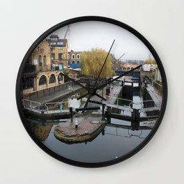 Camden Canal London 1 Wall Clock