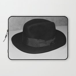 Vintage Black Fedora Hat Laptop Sleeve
