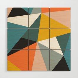 Modern Geometric 36 Wood Wall Art
