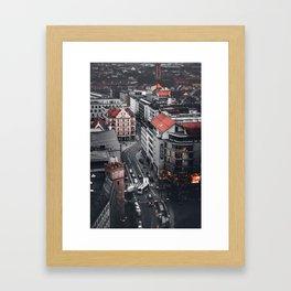 Mini Munich Framed Art Print