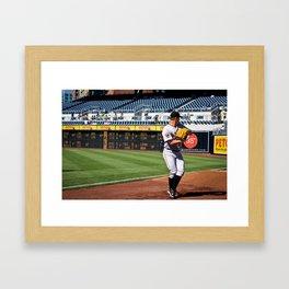 Matt Cain Framed Art Print