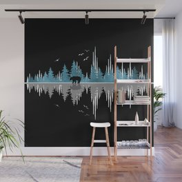 The Sounds Of Nature - Music Sound Wave Wall Mural