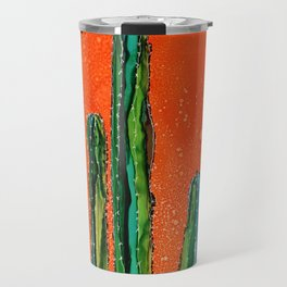 Column Cactus Travel Mug