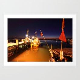 Harbour I Art Print