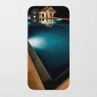 bar iPhone & iPod Cases featuring Pool Bar by Adrian Evans