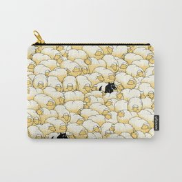 Find The Spy Pattern Carry-All Pouch