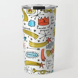 chasing stars and putting them in jars Travel Mug