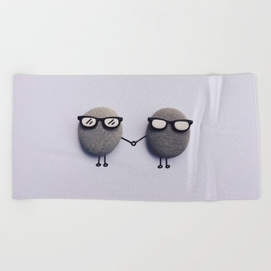 Love Duo Beach Towel