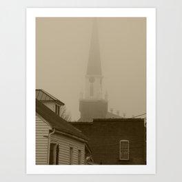 Ghost Church III Art Print