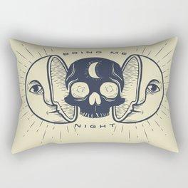 Kill the Sun, Bring Me Night Rectangular Pillow