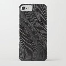 Minimal curves II iPhone 7 Slim Case