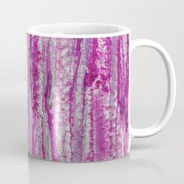 Encaustic Streaks (pink) Coffee Mug