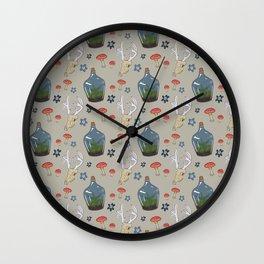 Dreams of Terrariums Wall Clock