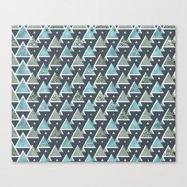Triangle Tetris Canvas Print