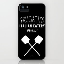 FRUGATTI'S CALIF iPhone Case