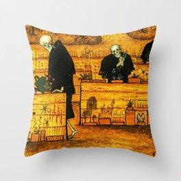 Hugo Simberg - The Garden of Death Throw Pillow