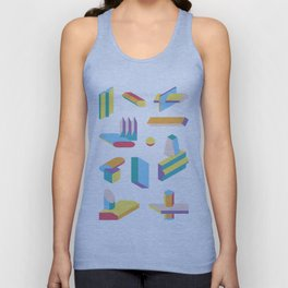 Extrusions No.1 Unisex Tank Top