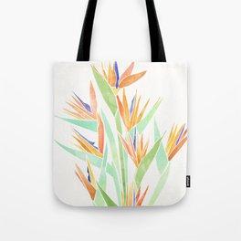 Birds of Paradise ~ tropical bouquet Tote Bag
