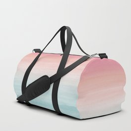 Touching Watercolor Abstract Beach Dream #1 #painting #decor #art #society6 Duffle Bag