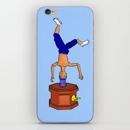 Breakdancing Music Box! iPhone Skin