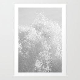 Whitewash Art Print