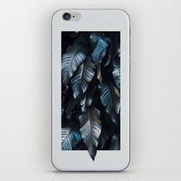 Growth II (blue) iPhone Skin