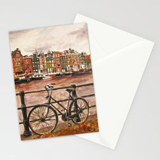 Going Dutch (red) Stationery Cards