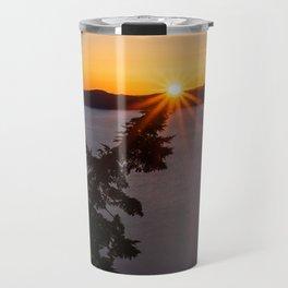 Sunset Tree Top Travel Mug